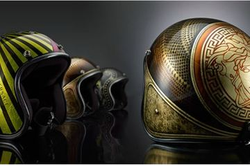 Helmet Versace by Unexpexted Custom